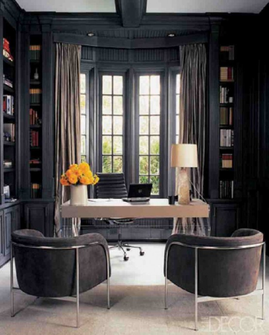 20 Inspiring Home Office Design Ideas For Small Spaces: Beautiful Home Office Designs Ideas