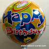 Balon Foil Bulat Motif HAPPY BIRTHDAY / Balon Foil Bulat HBD (02)