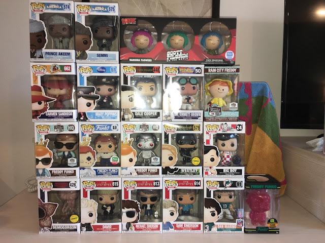 Comprar bonecos de ação Funko Pop em Miami