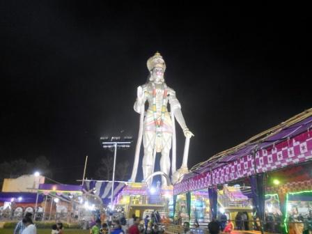 Hanuman Statue of Damanjodi