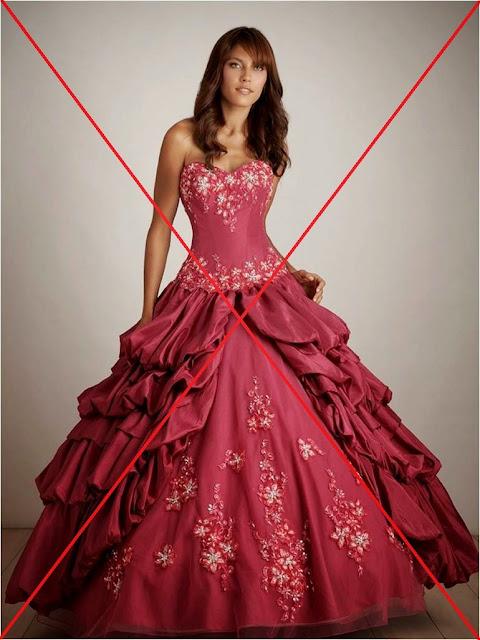vestido de madrinha de casamento que deve ser evitado