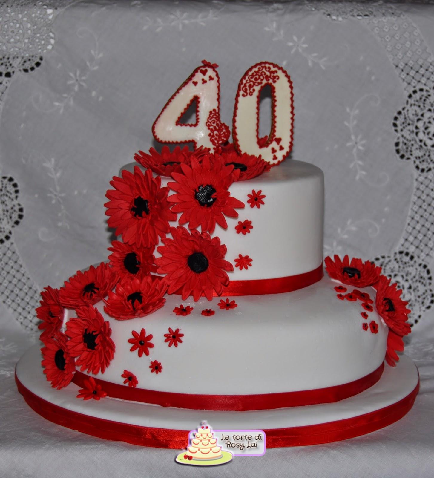 oltre 25 fantastiche idee su torte del 40 compleanno che ti