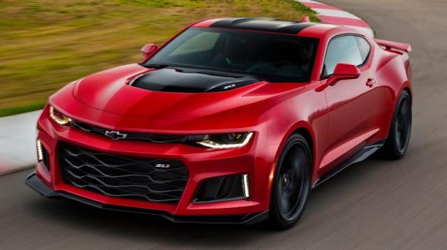 2017 Chevrolet Camaro ZL1 Review