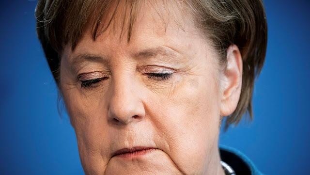 """Merkel asegura encontrarse """"muy, muy ocupada"""" pese a estar en cuarentena, pero lamenta """"no tener ningún contacto personal"""""""