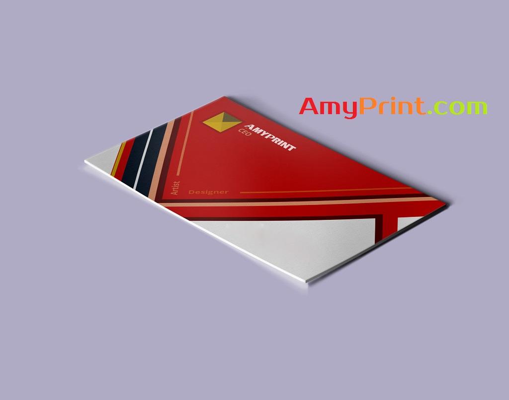 In nhanh card visit rẻ đẹp, thiết kế sang trọng chuyên nghiệp AmyPrint