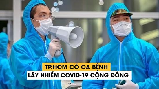 TP.HCM phát hiện thêm ca lây nhiễm COVID-19 cộng đồng