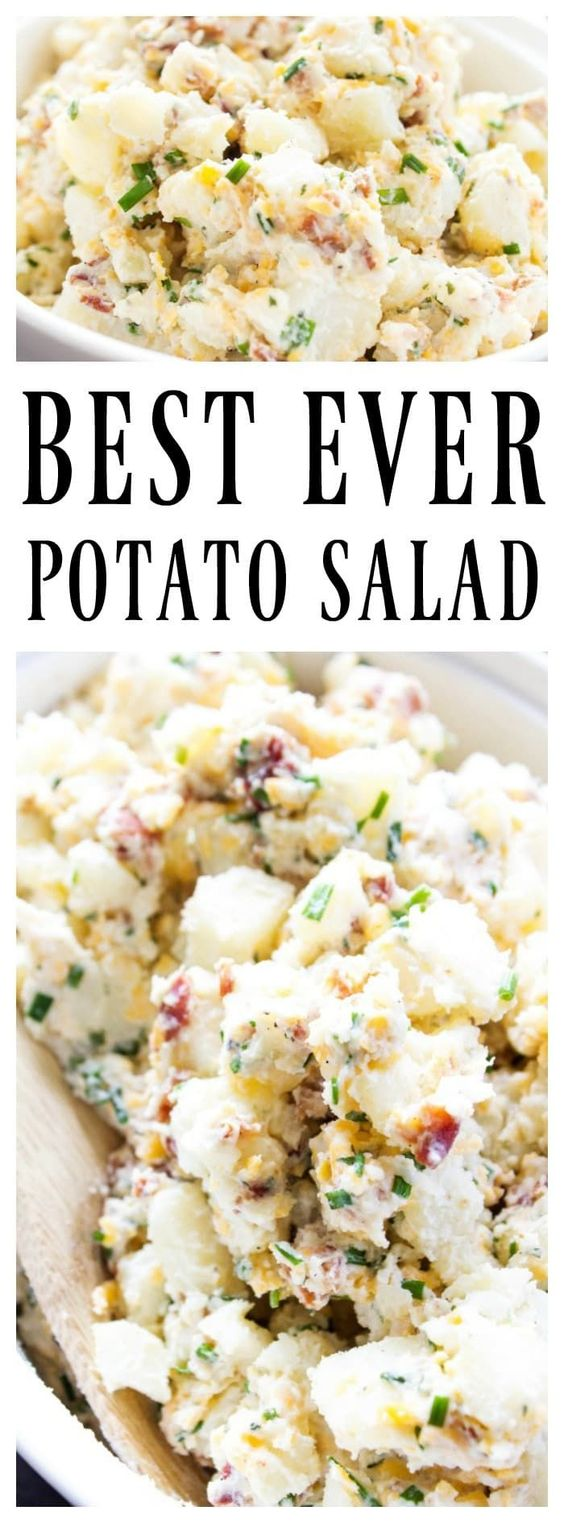 BEST EVER POTATO SALAD RECIPE
