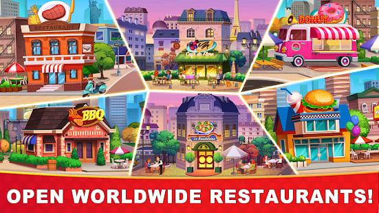 Cooking Hot. Top 5 jogos de culinária para Android