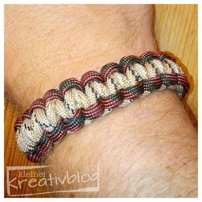 www.kleiner-kreativblog.de Paracord-Armband