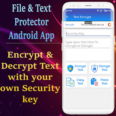 Files Protector - Encrypt and Decrypt - Android Complete App - 3