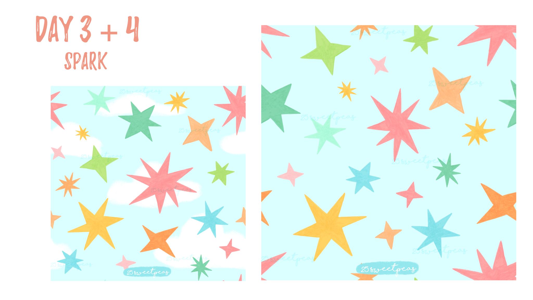 25 Sweetpeas Pattern Challenge Recap Copyright 25 Sweetpeas