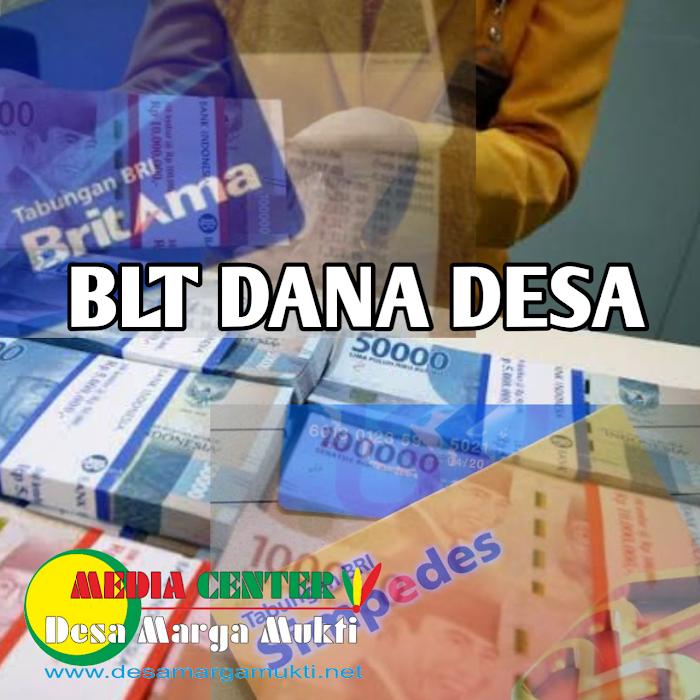 """BLT DANA DESA MARGA MUKTI SUDAH DI TRANSFER KE REKENING """" BISA DI TARIK """""""