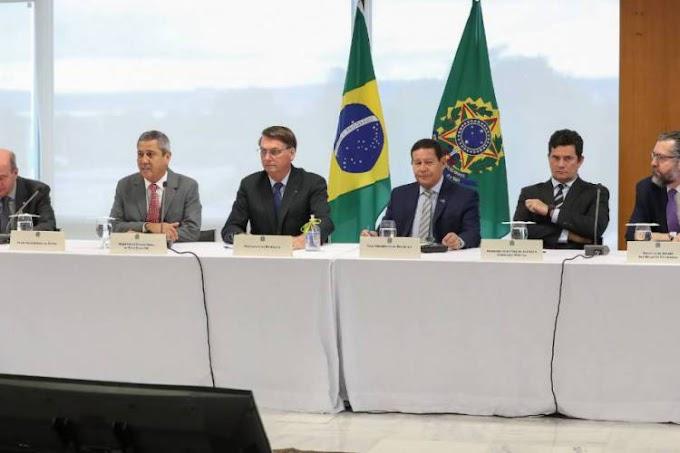 Assista ao vídeo da reunião de Bolsonaro com ministros do dia 22 de Abril liberado pelo STF.