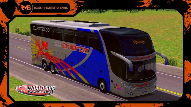 San Martin, Skins World Bus Driving Simulator