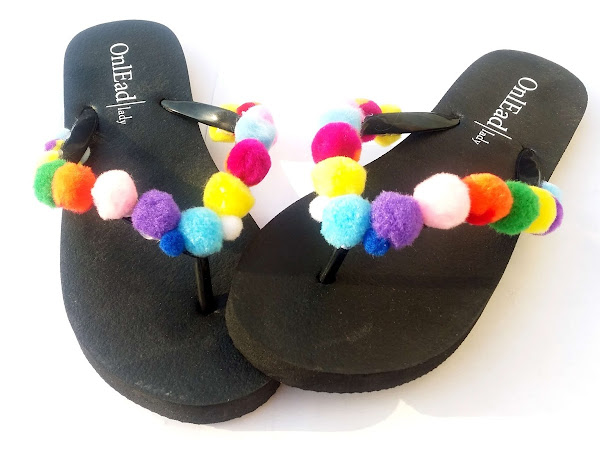 Do it yourself - the most beautiful sandals for the beach - DIY