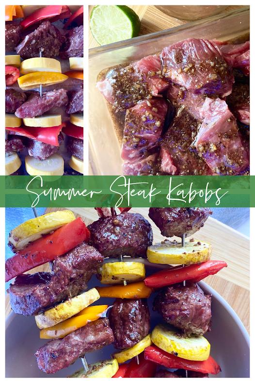 Summer Steak Kabobs