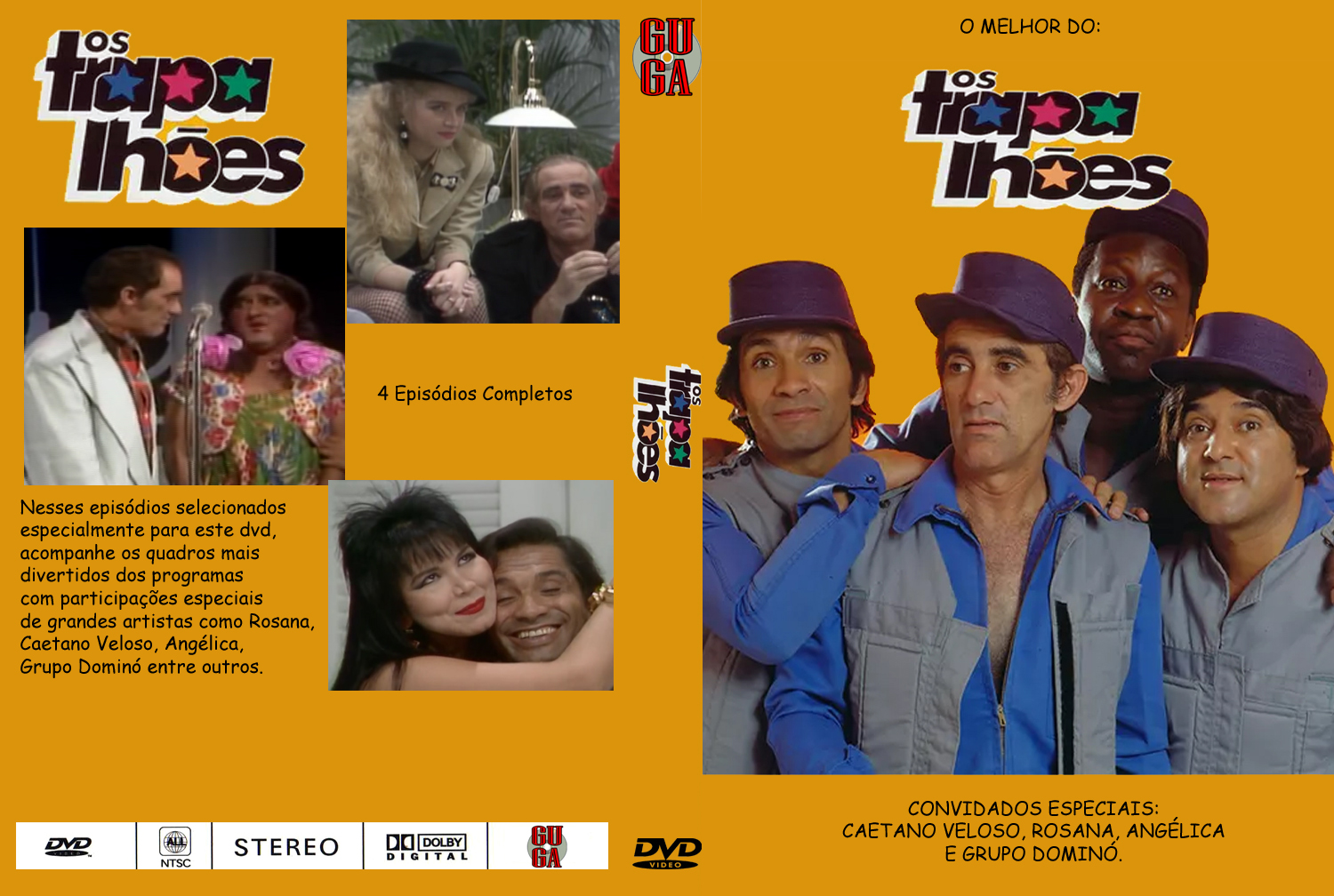 o dvd dos trapalhoes