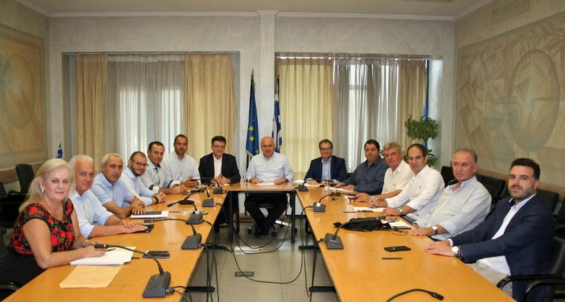 Πρώτη συνεδρίαση της Εκτελεστικής Επιτροπής της Περιφέρειας ΑΜ-Θ
