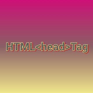 HTML <head> tag