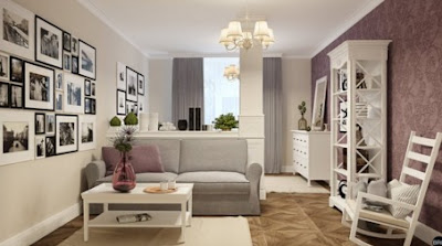 Design Apartment studio with a bedroom: a project in Kyiv