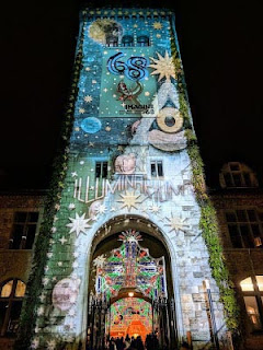 Things to do in Zurich in December: see the light show at the Illuminarium