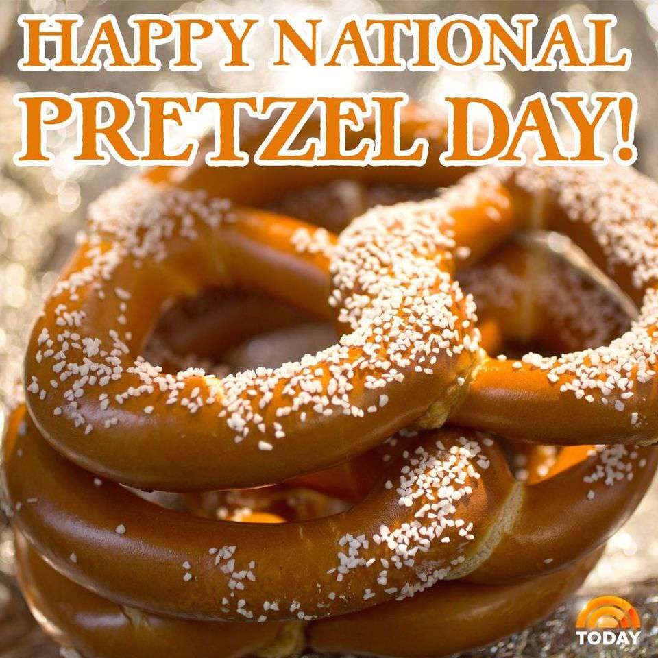 National Pretzel Day Wishes Sweet Images