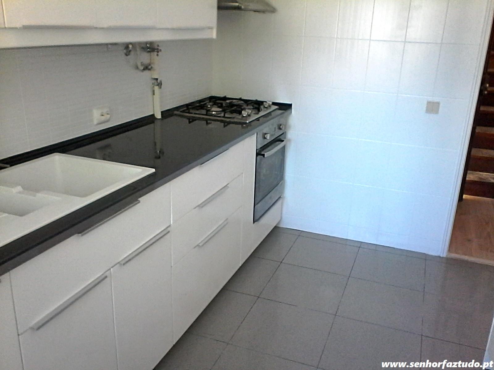 TUDO Faz tudo pelo seu lar !®: Montagem da cozinha Ikea no Estoril #30629B 1600 1200