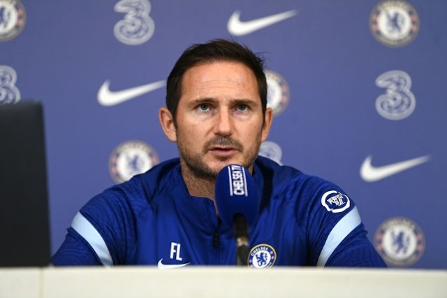 Lampard fala sobre os problemas defensivos às vésperas de estreia na UCL