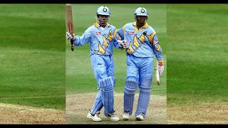 Sourav Ganguly 183 - Rahul Dravid 145 - India vs Sri Lanka 21st Match ICC Cricket World Cup 1999 Highlights