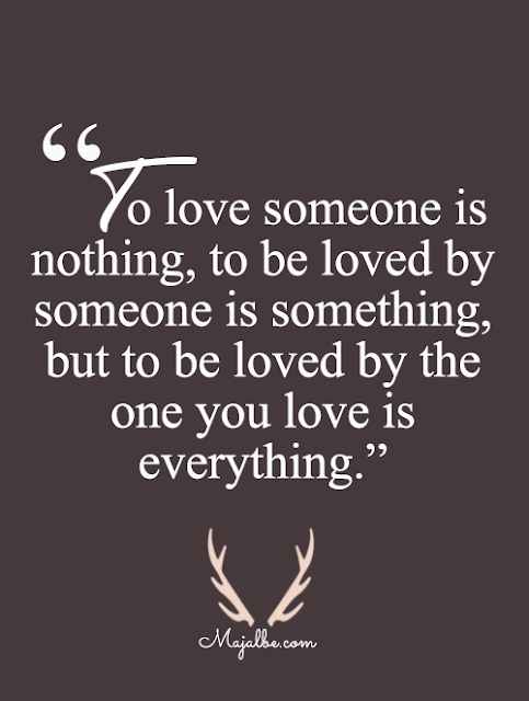 Love Is To Be Loved Love Quotes