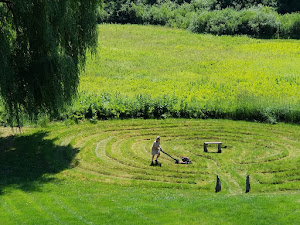 LABYRINTH IN SUMMER
