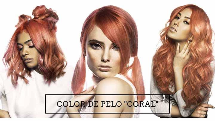 imagenes color de pelo coral