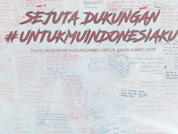 Bentuk Dukungan Masyarakat untuk Indonesia di Asian Games 2018