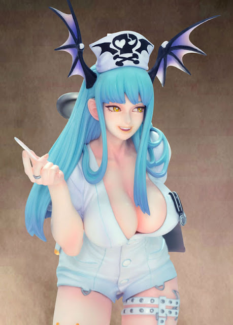 Capcom Figure Builder Creators Model Darkstalkers Morrigan Aensland Nurse Ver.