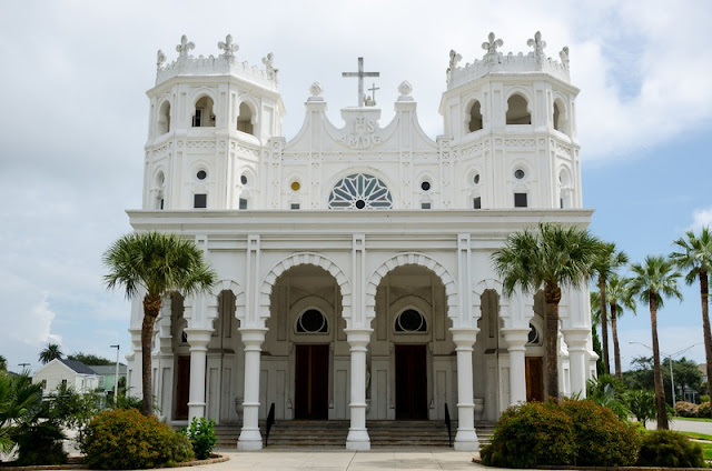 Sacred Heart Church at Galveston Tx