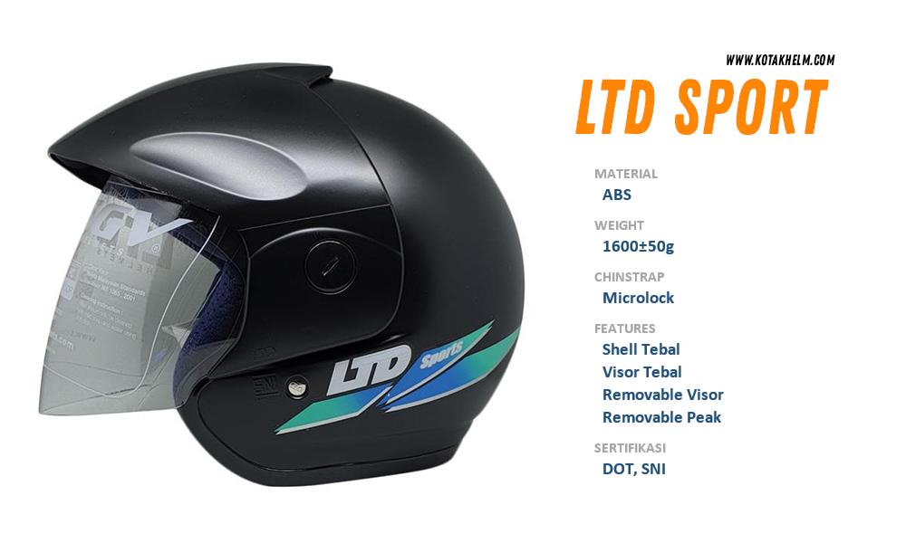LTD Sport Hitam Solid