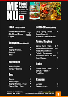 food delivery cod Kota Bharu #codchef