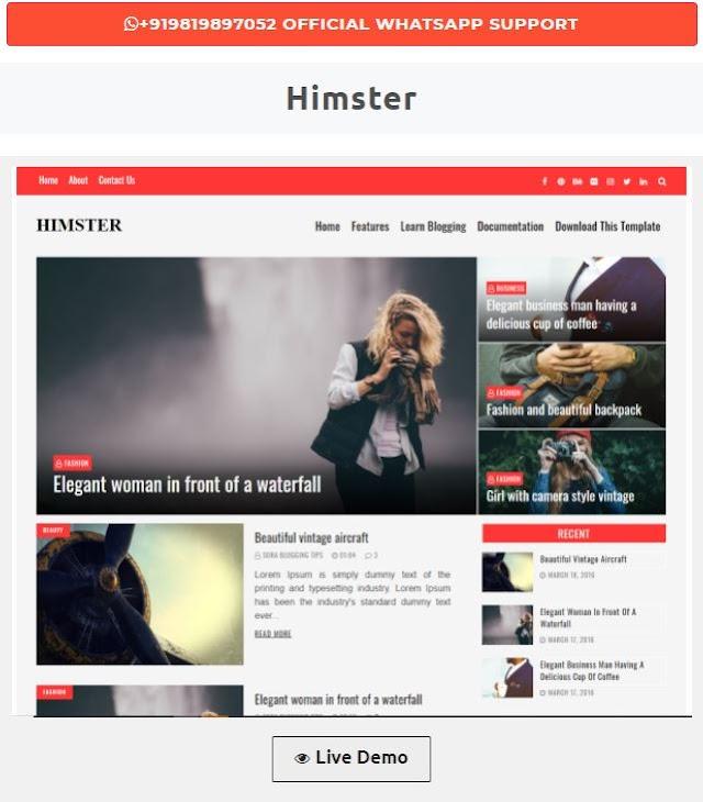 BÀI 1 : Hướng dẫn cách cài đặt Template cho Blogspot miễn phí