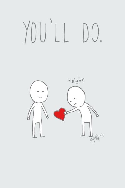 You'll Do Valentines Day Card