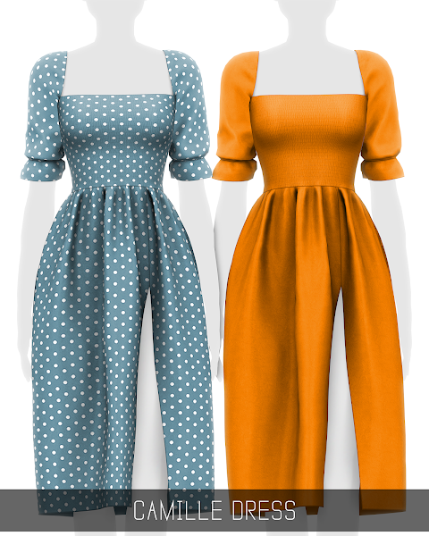 CAMILLE DRESS (PATREON)