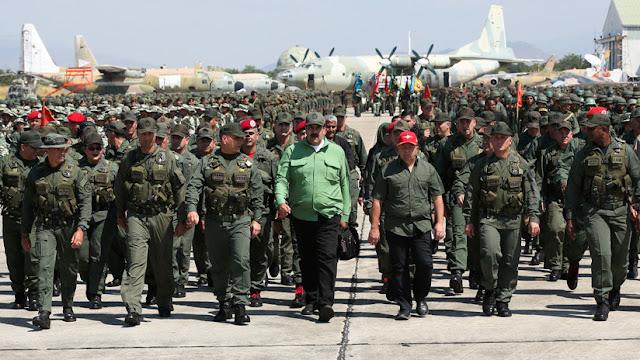 """Venezuela pone en marcha """"los ejercicios militares más importantes de su historia"""""""