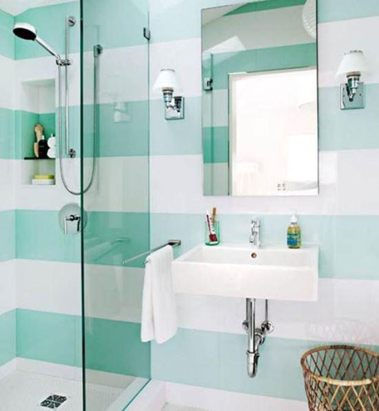 Warna Keramik Dinding Kamar Mandi mungil yang ideal