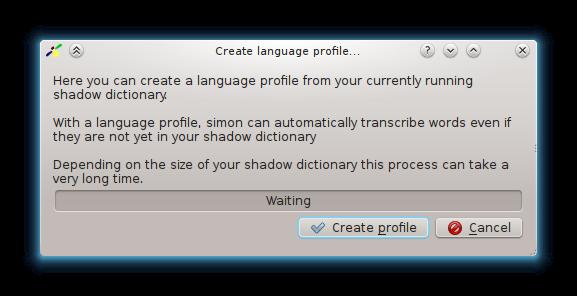 simon speech recognition