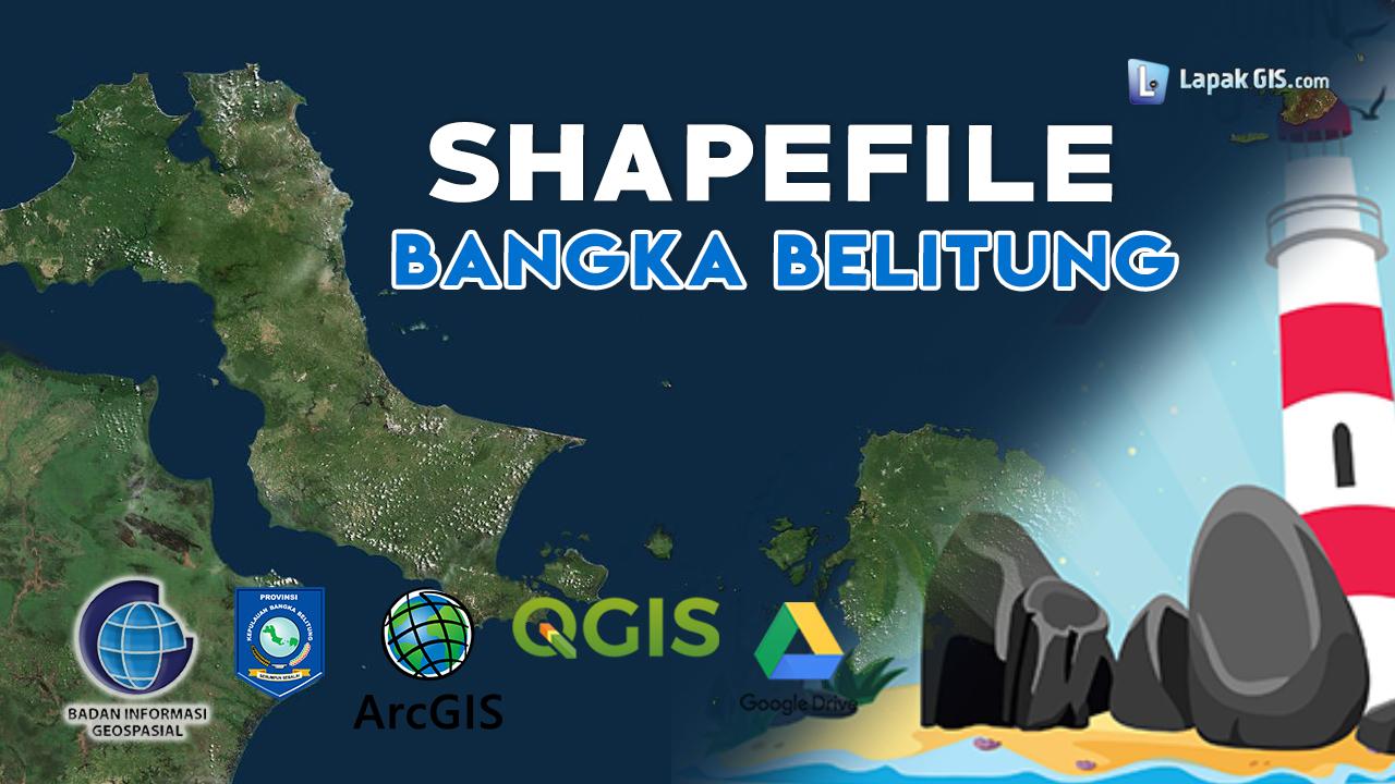 Shapefile Provinsi Bangka Belitung Terbaru