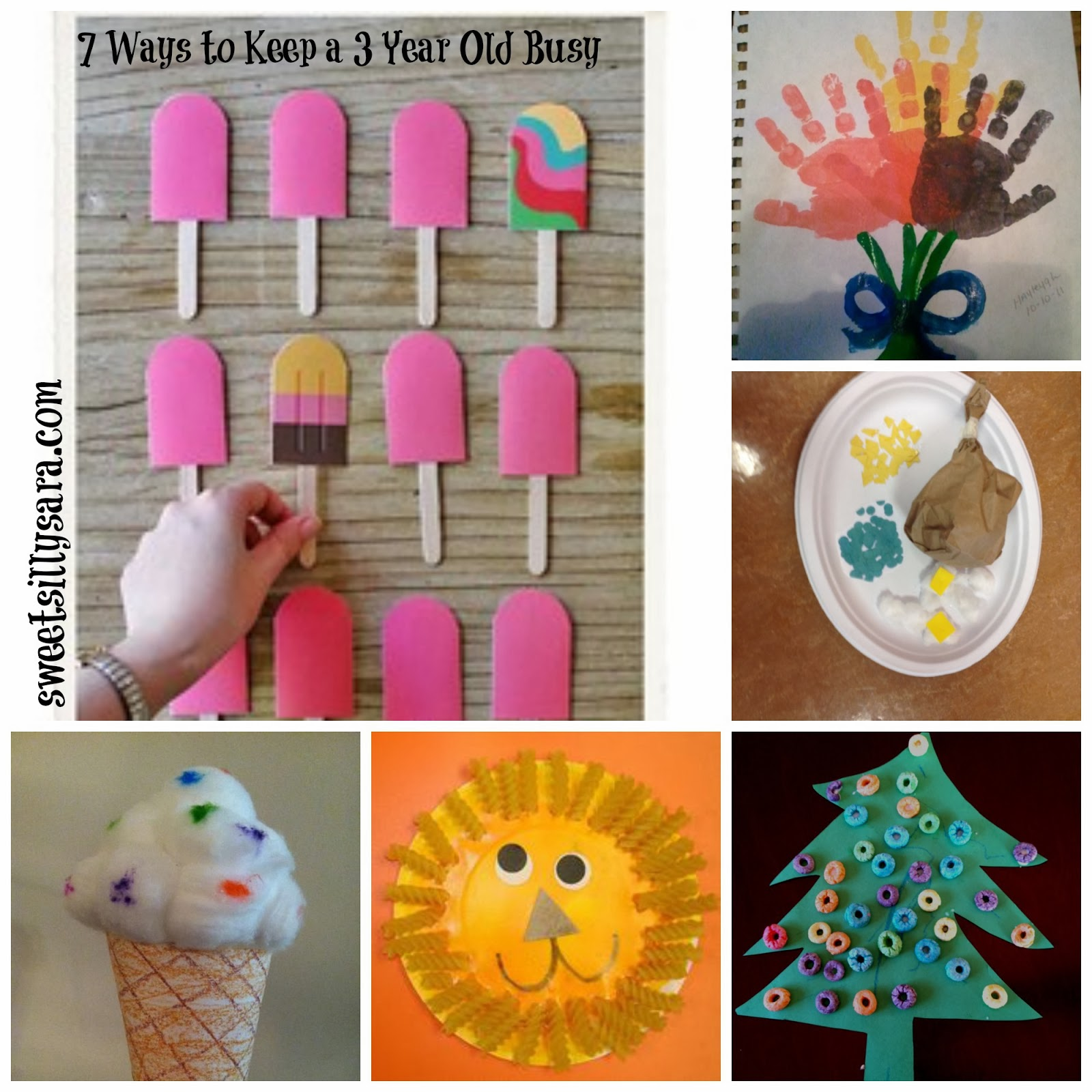 Sweet Silly Sara 7 Ways To Entertain a 3 Year Old