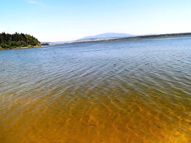 Krystalicznie czysta woda tylko nad Jeziorem Orawskim