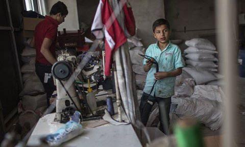 Turquía ocupa el tercer lugar en términos de explotación infantil