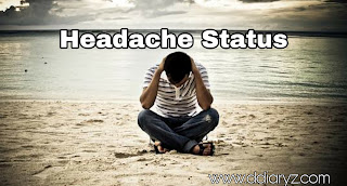 Headache Status and Pain Quotes
