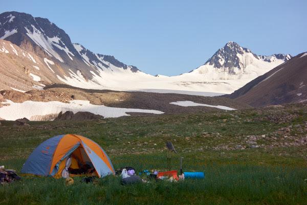 Шовурсай › ледник Пахтакор