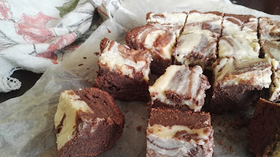 Brownies de leche condensada